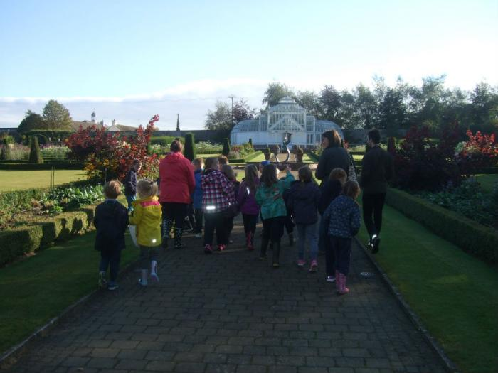 Learning about symmetry in the walled garden.