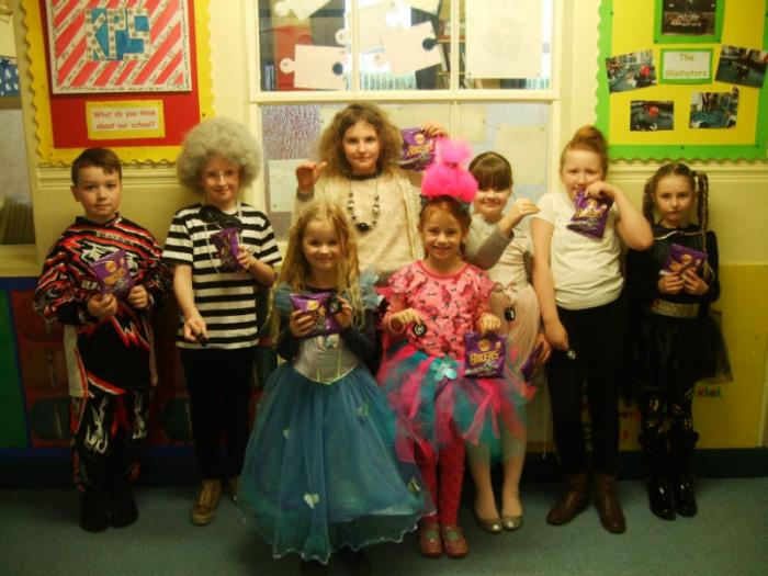 Prizes awarded for best dressed bikes on World Book Day
