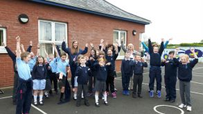 School Council Sponsored Walk Raises over £200