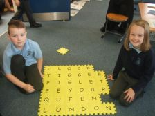 Word building linked to our topic